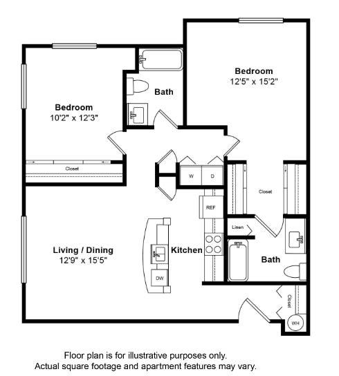Floor Plan  St Pierre Floor Plan at Tera Apartments
