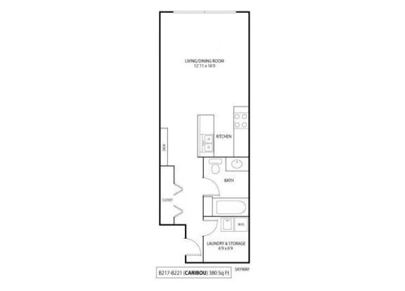 Floor Plan  Caribou