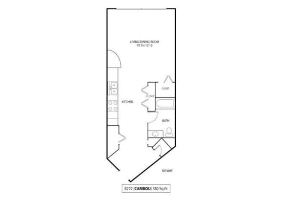 Floor Plan  Caribou Skyway