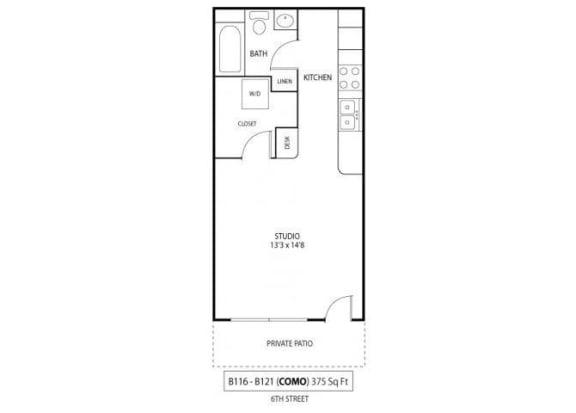 Floor Plan  Como