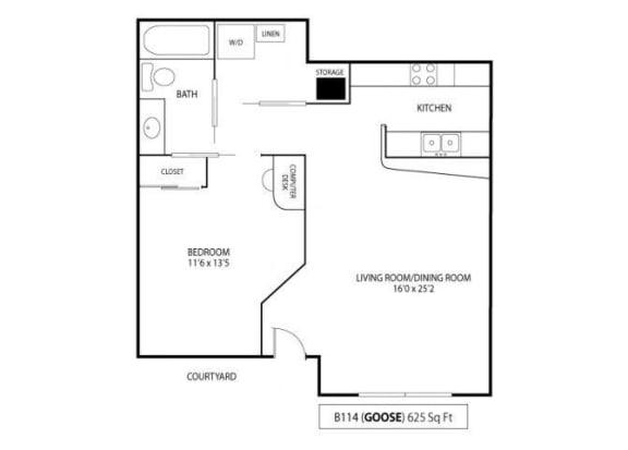 Floor Plan  Goose