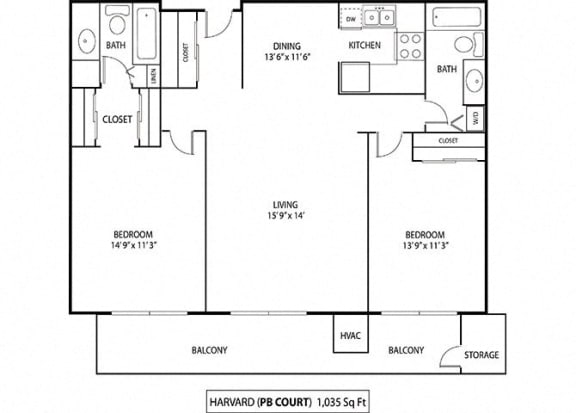 Floor Plan  Harvard