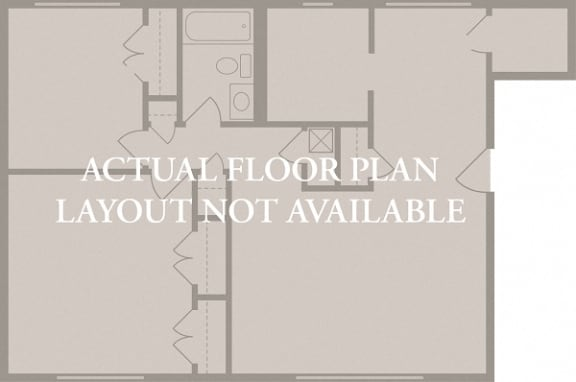Floor Plan  Harvard 1 Bed 1 Bath Floor Plan at Indian Creek Apartments, Cincinnati, OH, 45236