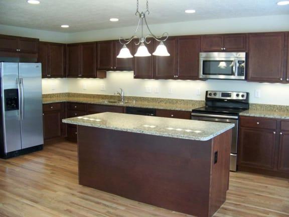 Granite Countertop Kitchen at Indian Creek Apartments, Cincinnati, OH, 45236