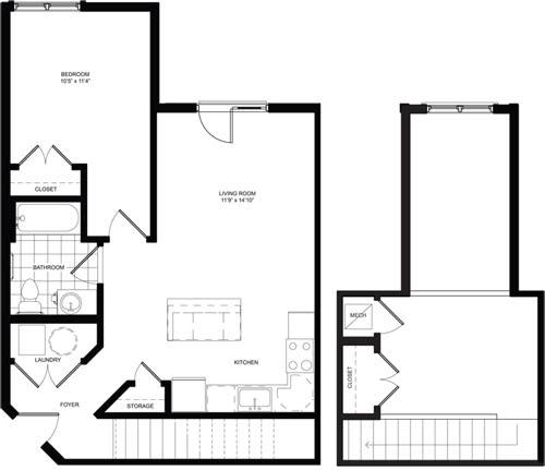 Floor Plan  Loft Floor Plan