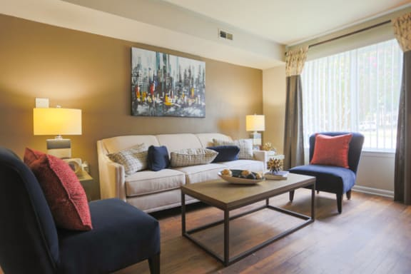 Expansive Windows in Select Apartments at Sterling Beaufont Apartments, Virginia