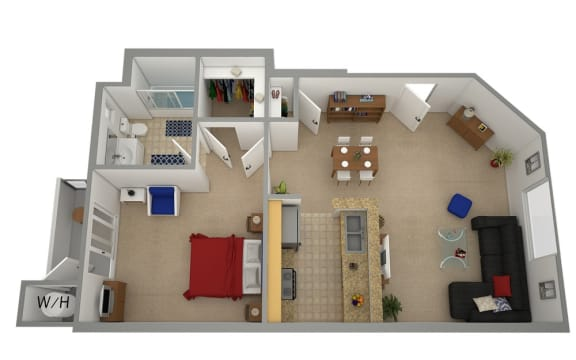 Floor Plan  SYLMAR ASTORIA VIEW Rental Apartments 91342