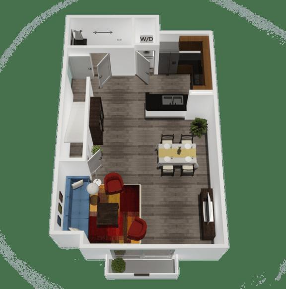 Floor Plan  Legacy Apartment Homes  - Northridge - Luxury Rental Apartments near CSUN