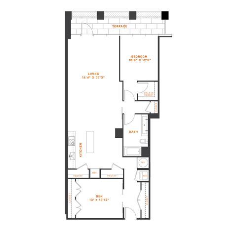 Floor Plan  AD11 Den