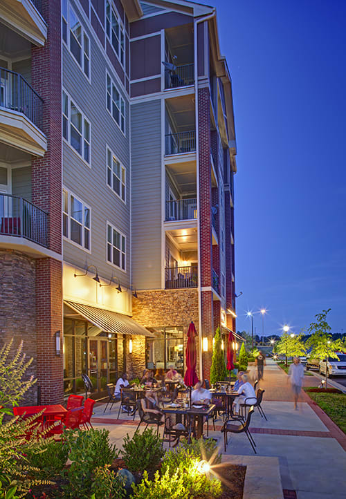 Retail located just steps away onsite at LangTree Lake Norman Apartments, Mooresville, North Carolina