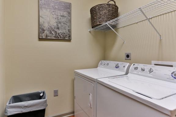 Washer & Dryer at LangTree Lake Norman Apartments, Mooresville, North Carolina