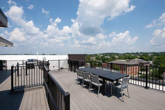 Rooftop Deck at Fahrenheit, Washington, DC