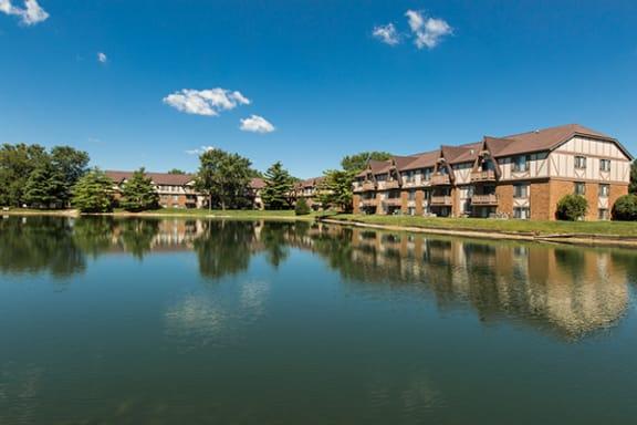 Lakeside Apartments at Bavarian Village Apartments, Indy 46235