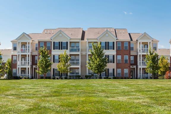 Beautiful Award Winning Landscaping at Brickshire Apartments, Indiana
