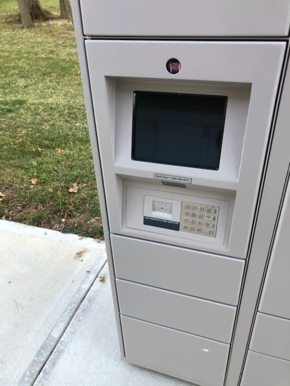 Locker Hub at Latitudes Apartments, Indianapolis, Indiana