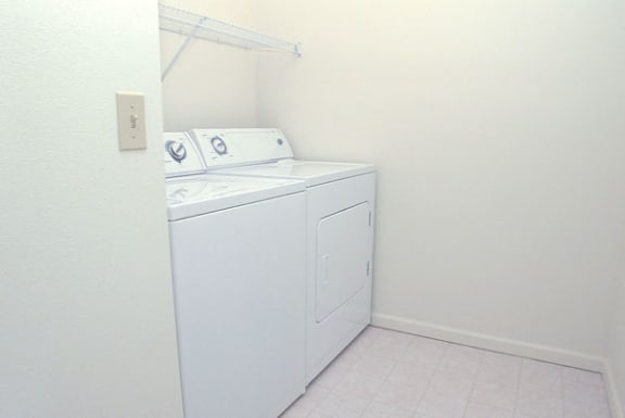 Two Bedroom Laundry Room at Black Sand Apartment Homes in Lincoln, NE