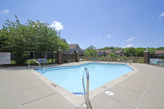 Refreshing Pool and Sundeck at Hampton Lakes Apartments in Walker, MI