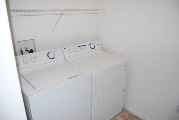 Convenient Laundry Room at Heatherwood Apartments in Grand Blanc, MI