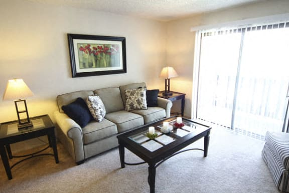 Balcony Units Available at Normandy Village Apartments in Michigan City, IN
