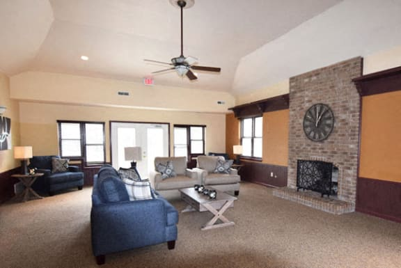 Clubhouse with Wi-Fi at Orchard Lakes Apartments in Toledo, OH