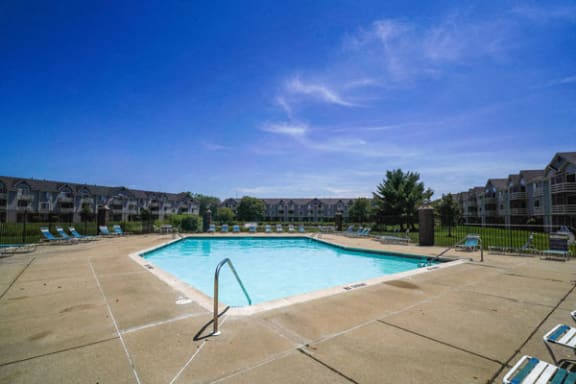 Refreshing Pool with Wi-Fi at Pine Knoll Apartments in Battle Creek, MI