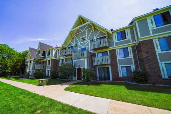 Balcony or Patio Offered at Swiss Valley Apartments in Wyoming, MI