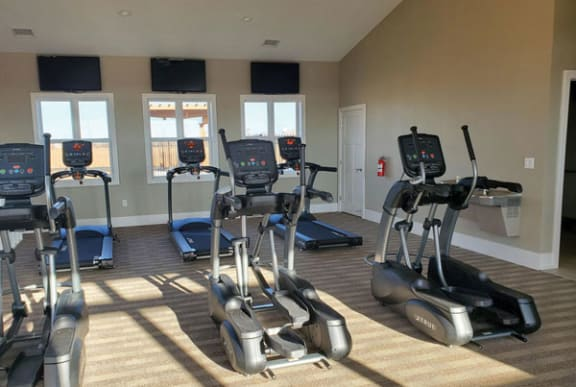 24-hour Fitness Center at Trade Winds Apartment Homes in Elkhorn, NE