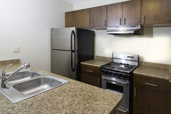 Apartments Downtown SLC with All Electric Kitchen and Quality GE Appliances