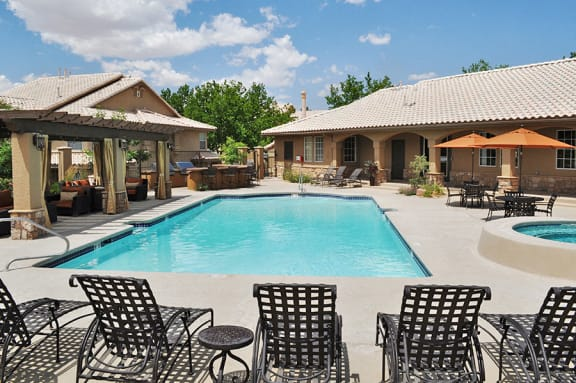 Beautiful Swimming Pool at Westside of Albuquerque Apartments near Me