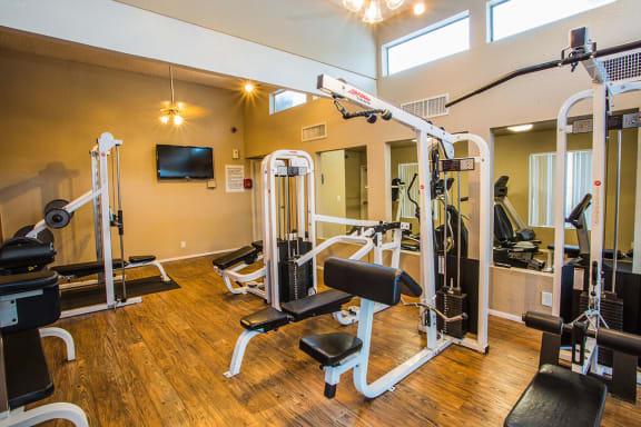 Gym at Apartment Homes in Laughlin NV