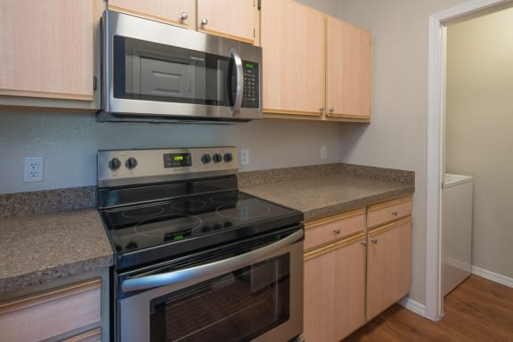 Spacious Kitchens with Upgraded Appliances at Glendale, AZ Apartments Near I-17