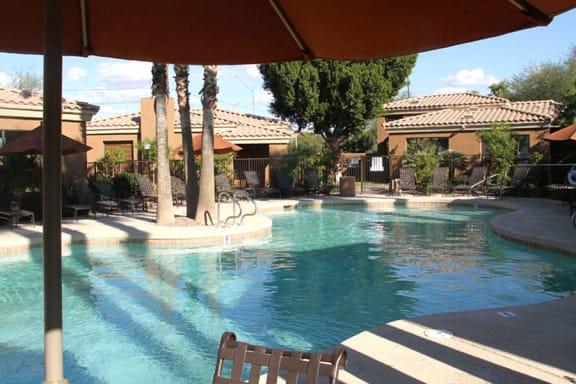 Swimming Pool at RidgeGate Apartments in PHX 85027