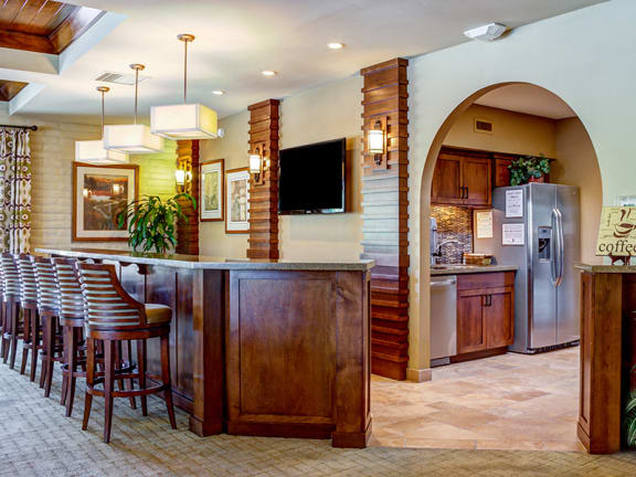 Encantada Apartments near Tucson with Resident Clubhouse