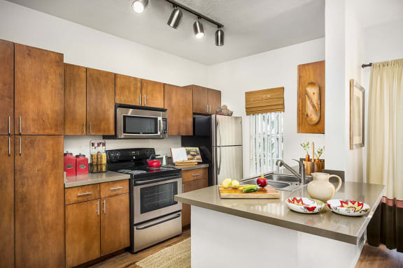 Upgraded Full Kitchen with Dishwasher at Apartments in Salt Lake County
