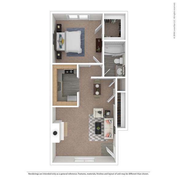 Floor Plan  Villes Floor Plan at The Courtyards of Chanticleer, Virginia