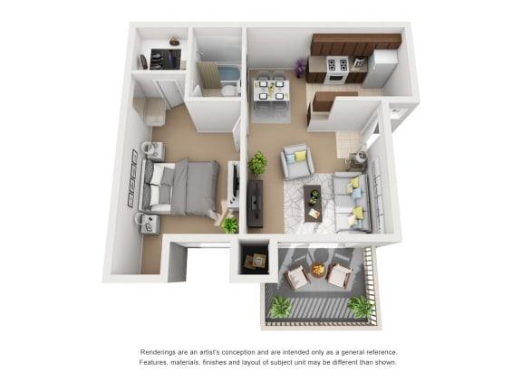Unit Image at Knollwood Meadows Apartments, Santa Maria