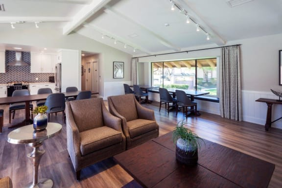 Clubhouse With Catering Kitchen at Knollwood Meadows Apartments, Santa Maria