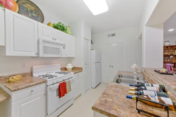 Remodeled Kitchen at Casoleil, San Diego, 92154
