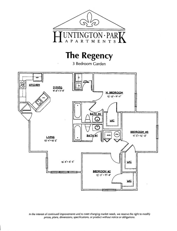 3 Bed Apartment Rental in Boalsburg, Pa | Huntington Park Apartments | Property Management, Inc.