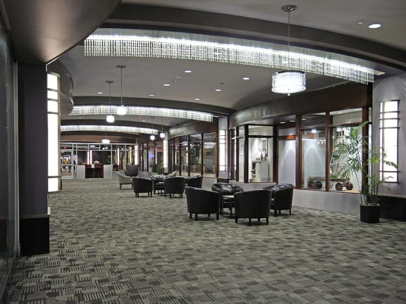 Brand New Carpeting in First Floor Common Areas at Reserve Square, Cleveland, OH
