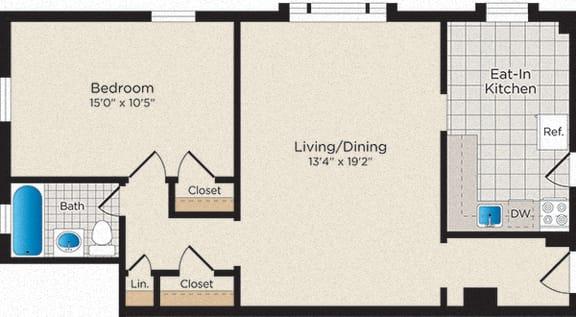 Floor Plan  A05 - South