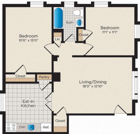 Floor Plan  B02 - South