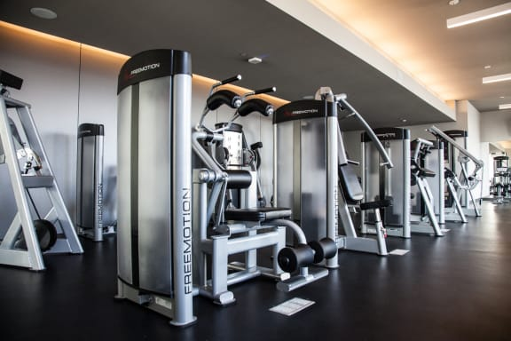 Rooftop Fitness Center at Catalyst, Chicago, IL,60661