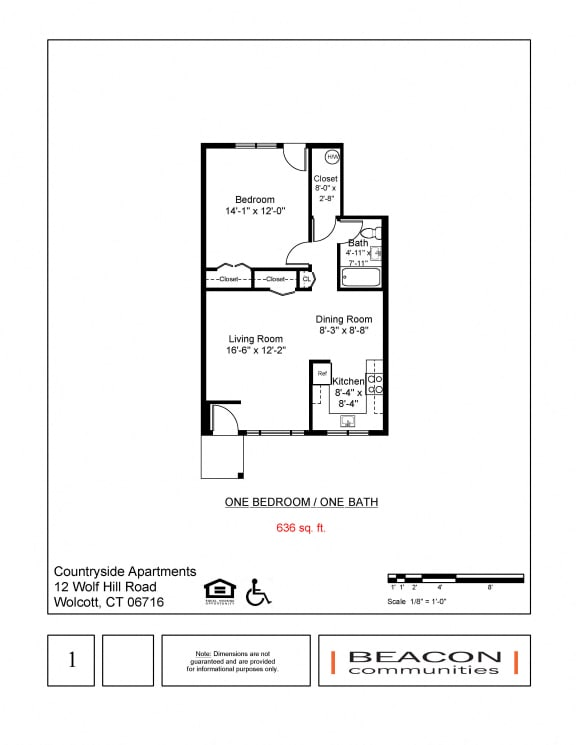 Floor Plans Of Countryside Apartments In Wolcott Ct