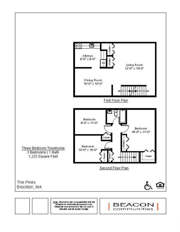 three bedroom affordable townhome