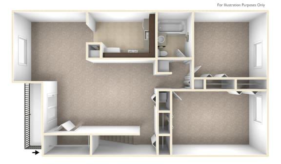 Premier 2 bedroom at Williamsburg Estates in Harrisburg, PA