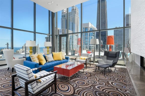 Sky Lounge at State & Chestnut Apartments, 845 N State St, 60610