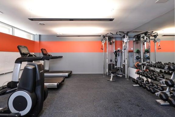 Reside on North Park Fitness Center
