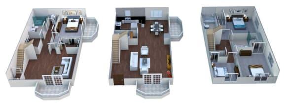 Floor Plan  Floor plan at Linea Cambridge, Cambridge, 02140