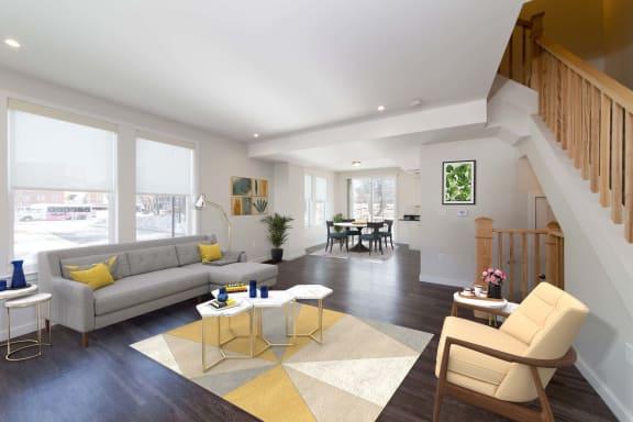 Spacious Living Rooms at Linea Cambridge